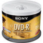 Sony (50DMR47LS2) (DMR-47/50) 4x DVD-R Spindle (50 Pack)