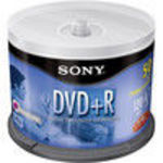 Sony (50DPR47LS3) (DPR-47/50) 8x DVD+R Spindle (50 Pack)