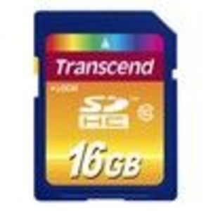 Transcend 16 GB Class 10 SDHC Flash Memory Card TS16GSDHC10E
