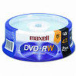 Maxell (634046) (15 Pack) 4x DVD+RW Storage Media