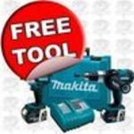 Makita 18V LXT Lithium Ion 2 Piece Combo Kit