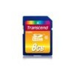 Transcend TS8GSDHC10 SDHC Memory Card (8 GB) SD Card