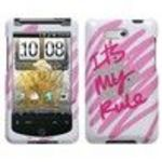 HTC Aria It's My Rule Sparkle Phone Protector Cover
