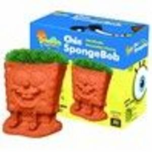 Chia SpongeBob Handmade Decorative Planter (Chia)