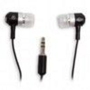 iFrogz EarPolloution Metal Drumz In Ear Earphones Black Earphone / Headphone