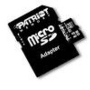PDP Systems Patriot Micro SDHC Flash Card Model PSF8GMCSDHC10 (8 GB)