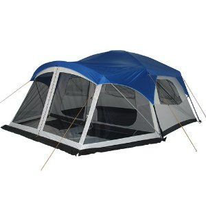 Greatland 7-8 Person Cabin Dome Tent - Blue