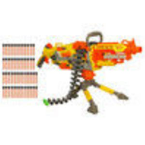 Hasbro Nerf N-Strike Vulcan EBF-25 Blaster - Double Your Darts Value Pack
