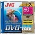 JVC VDW28DU 2x DVD-RW Jewel Case Storage Media Single
