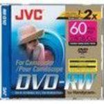 JVC VDW28DU 2x DVD-RW Jewel Case Storage Media Single