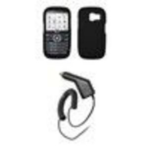 Pantech Link P7040 - Premium Soft Silicone Gel Skin Cover Case + Rapid Car Charger for Pantech Link P7040