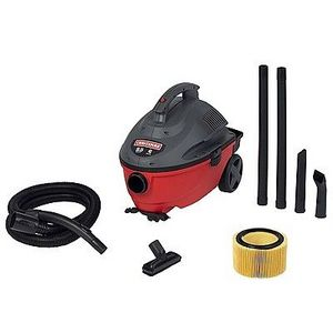 Craftsman - Portable Wet/Dry 4 Gallon 5.0HP Vacuum