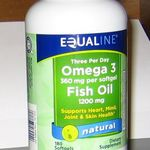 Equaline Fish oil 1200mg