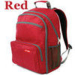 Skip Hop 210101 Via Backpack Diaper Bag In Red