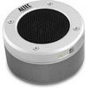 Altec Lansing Orbit MP3 Portable Speaker - for phones and iPhone, Silver