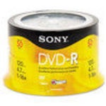 Sony - Sony DMR 47RS4 (50DMR47RS4) 16x DVD-R Spindle