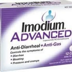Imodium Advanced Anti-Diarrheal/Anti Gas
