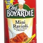 Chef Boyardee Mini Ravoli