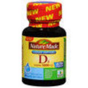 Nature Made Vitamin D3 5000 IU Liquid Softgels