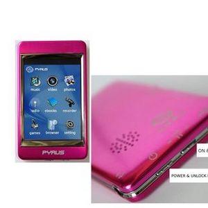 Pyrus Electronics - 4GB MP3 / MP4 / MP5 Player