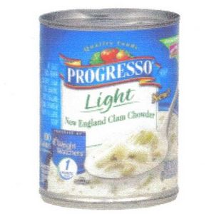 Progresso Light New England Clam Chowder