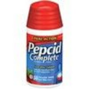 Pepcid Complete Acid Reducer + Antacid with Dual Action Chewable Tablets - Cooling Mint