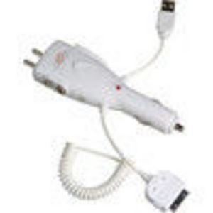 CTA Digital (IP-MFC) Power Adapter, Charger for Apple iPod