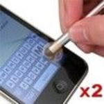 Eforcity 2 X Stylus Touch Pen (VFB07USTYPEN2PA1) for Apple iPad iPod iPhone 3 G 3GS