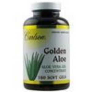 Carlson Labs, Golden Aloe, Aloe Vera Gel Concentrate, 180 Soft Gels