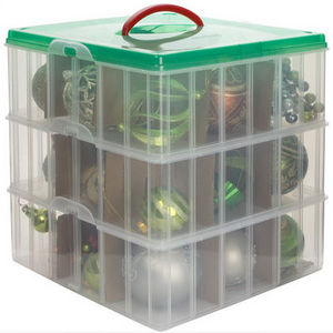 Snapware Christmas Ornament Storage Box