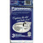 Panasonic M-CV145M Type U-6 Tab Lock Micro Paper Bag, 3 Pack