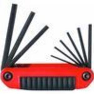 Eklind Tool Company 9 Piece SAE Ergo Fold Hex Key Set