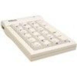 KeyOvation Goldtouch GTC-MACW Keypad - Wired - White USB - 22 x Key - USB Hub (GTCMACB)