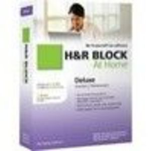 H&R Block At Home 2010 Deluxe Federal + State + eFile