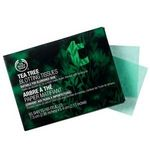 Body Shop Tea Tree Oil Facial Blotting Tissues