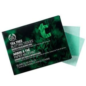 Body Shop Tea Tree Oil Facial Blotting Tissues