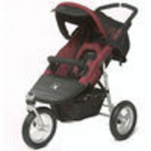 Valco Runabout Single DLX Jogger Stroller - Crimson