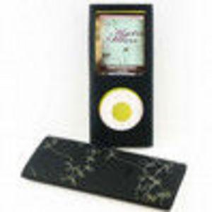 Digital Life Outfitters Digital Lifestyle Outfitters DLA64023/17 Jam Jacket Grafik Case for iPod nano 4G, Laser Vine (Black/Clear...