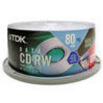TDK (CD-RW80CB25) Storage Media