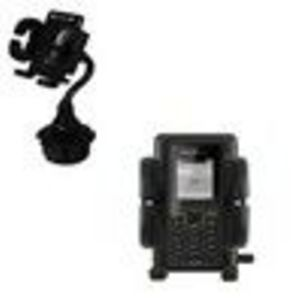 Sony Ericsson K330a Car Cup Holder - Gomadic Brand Holster / Holder