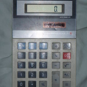 Sharp - EL-334 Solar Cell Calculator