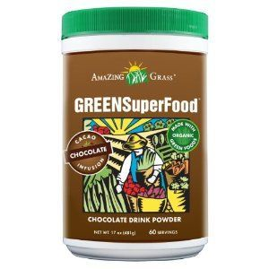 Amazing Grass Chocolate Green Superfood Drink Powder