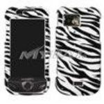 Samsung A897 (Mythic) Zebra Skin Phone Protector Cover Case