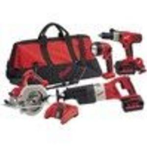 Milwaukee 0928-29 V28 Four Tool Combo Kit