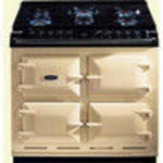 AGA Six-Four A64DSI Dual Fuel (Electric and Gas) Range