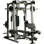 Gold's Gym Platinum Smith Rack & Bench