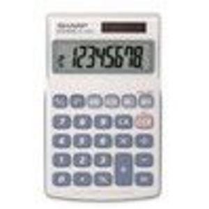 Sharp EL-240SB Basic Calculator