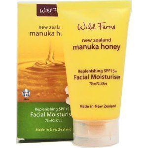 Manuka Honey Wild Ferns Facial Moisturizer SPF15+