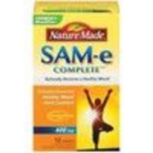 Nature Made SAM-e 400 milligram Double Strength (12 Enteric Coated Tablets) (Nature Made)