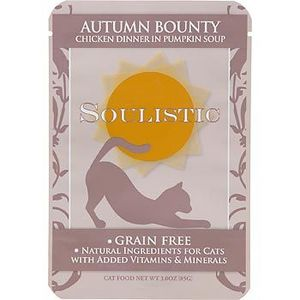 Soulistic Grain-Free Adult Cat Food Pouches